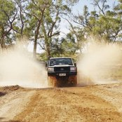 Driving Flinders Ranges