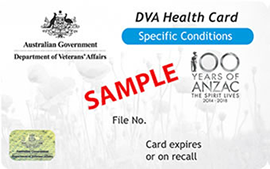 Department of Veterans Affairs Health Card - White