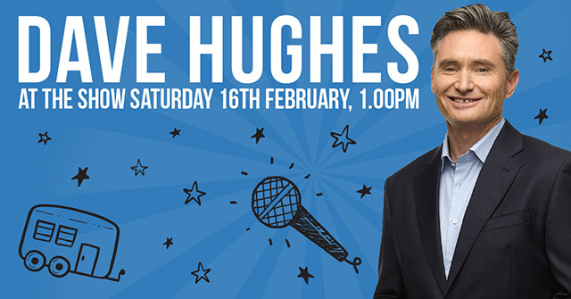 Dave Hughes - at the show!