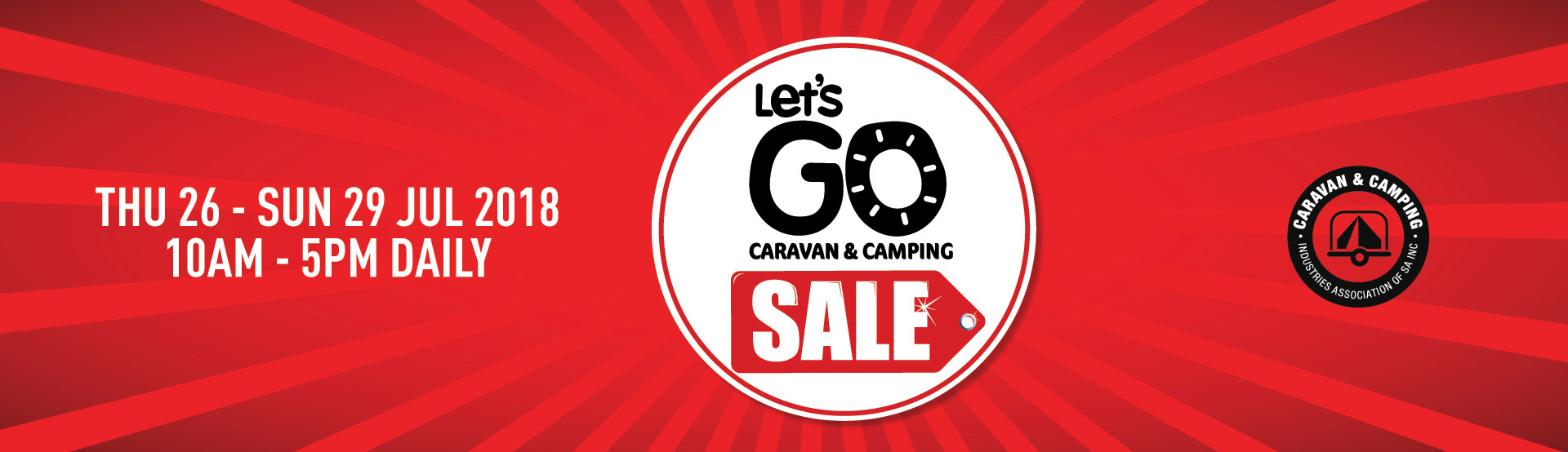 Let's Go Caravan and Camping Sale